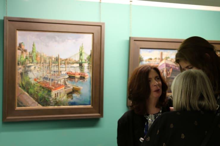 Gerard Byrne Irish Paintings Exhibition 2017 Gorry Gallery Dublin 5