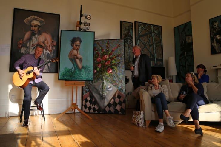 The Gerard Byrne Studio Artists Open Houses 2016 Brighton 10