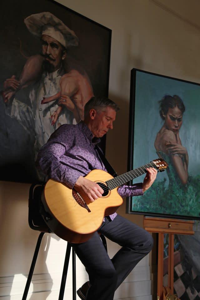 The Gerard Byrne Studio Artists Open Houses 2016 Brighton 12