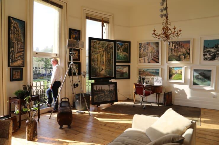 The Gerard Byrne Studio Artists Open Houses 2016 Brighton 3