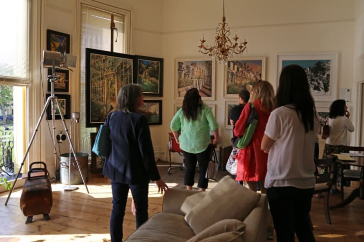 The Gerard Byrne Studio Artists Open Houses 2016 Brighton 4