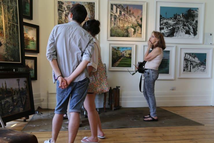 The Gerard Byrne Studio Artists Open Houses 2016 Brighton 5