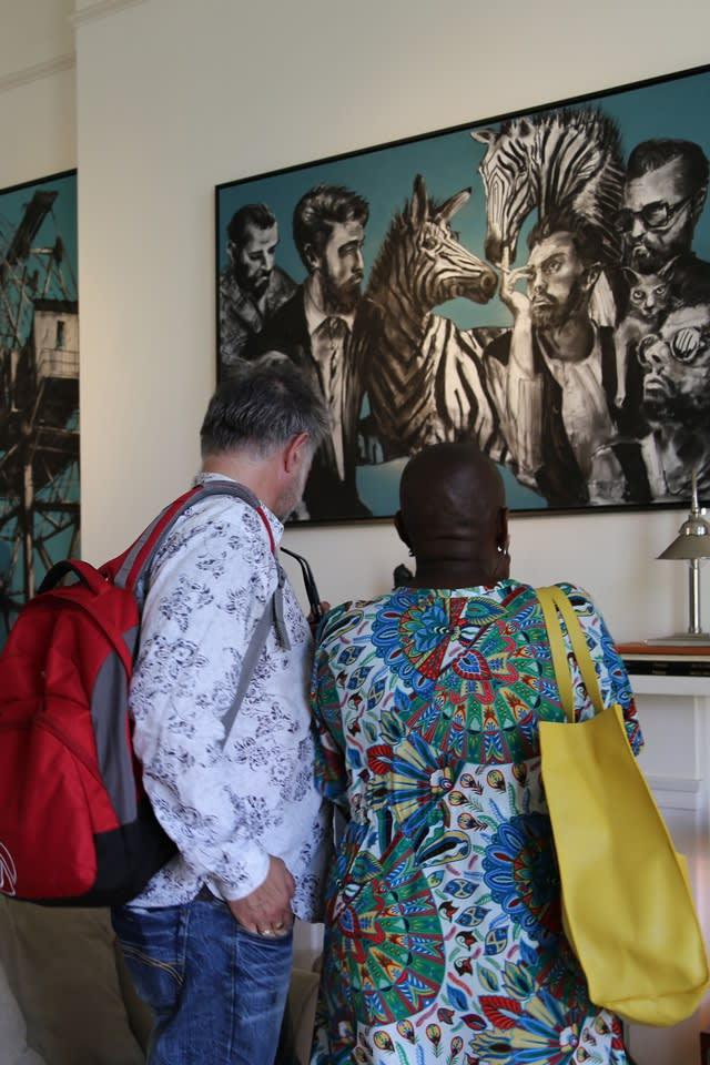 The Gerard Byrne Studio Artists Open Houses 2016 Brighton 6