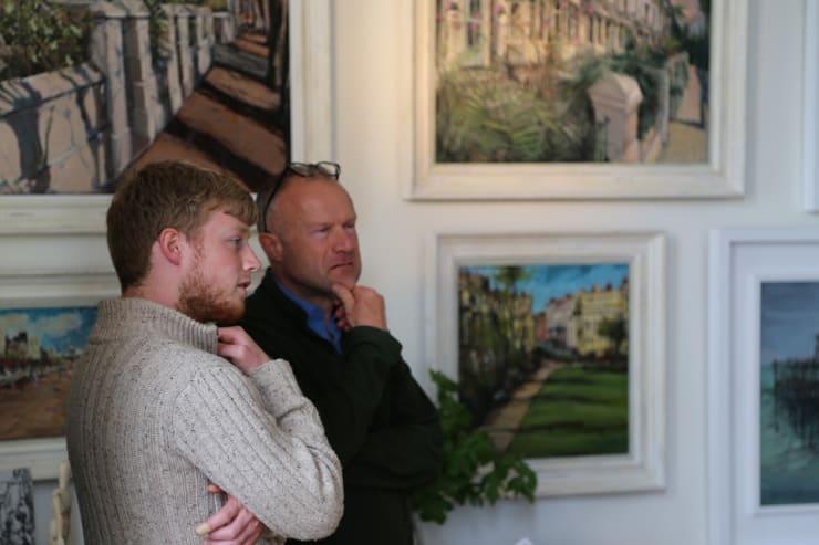 The Gerard Byrne Studio Artists Open Houses 2016 Brighton 7