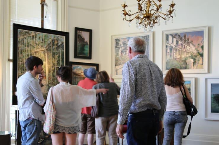 The Gerard Byrne Studio Artists Open Houses 2016 Brighton 8