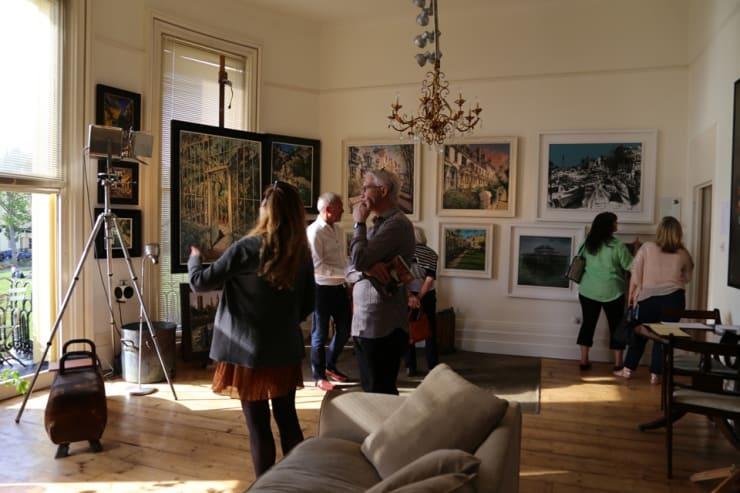 The Gerard Byrne Studio Artists Open Houses 2016 Brighton 9