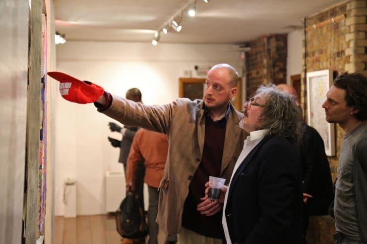 Gerard Byrne The Art Of Regeneration Menier Gallery London 16