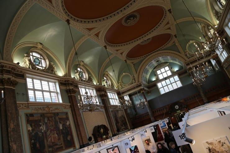 Gerard Byrne Parallax Art Fair Chelsea London 1