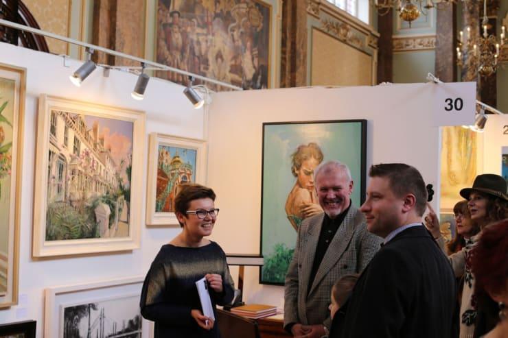 Gerard Byrne Parallax Art Fair Chelsea London 10