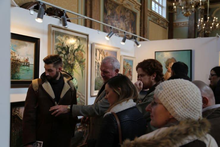 Gerard Byrne Parallax Art Fair Chelsea London 11