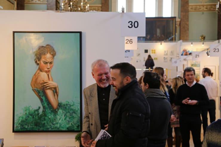 Gerard Byrne Parallax Art Fair Chelsea London 12