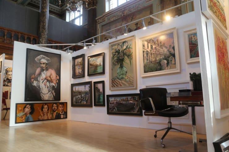 Gerard Byrne Parallax Art Fair Chelsea London 15