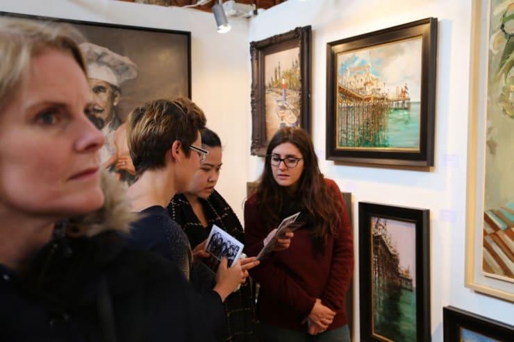 Gerard Byrne Parallax Art Fair Chelsea London 2