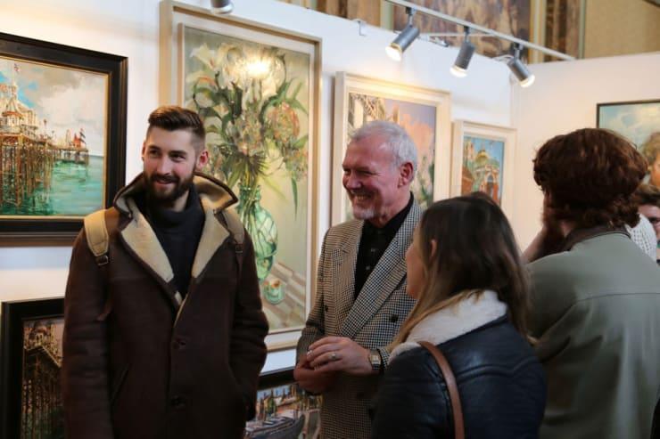Gerard Byrne Parallax Art Fair Chelsea London 3