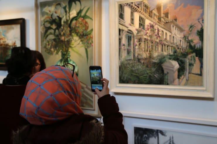 Gerard Byrne Parallax Art Fair Chelsea London 5