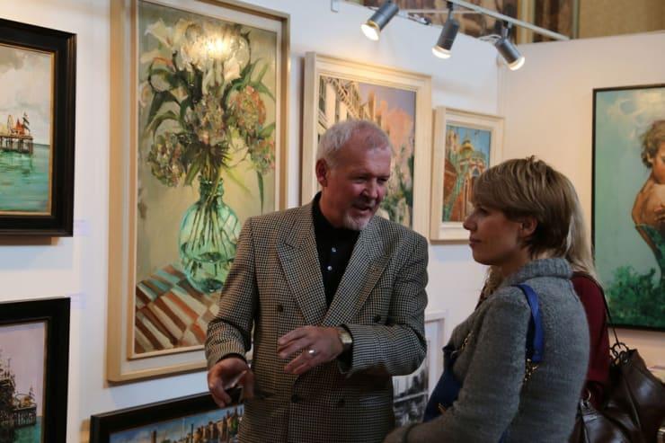 Gerard Byrne Parallax Art Fair Chelsea London 6