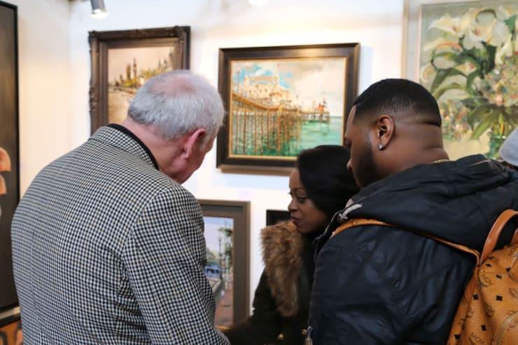 Gerard Byrne Parallax Art Fair Chelsea London 7