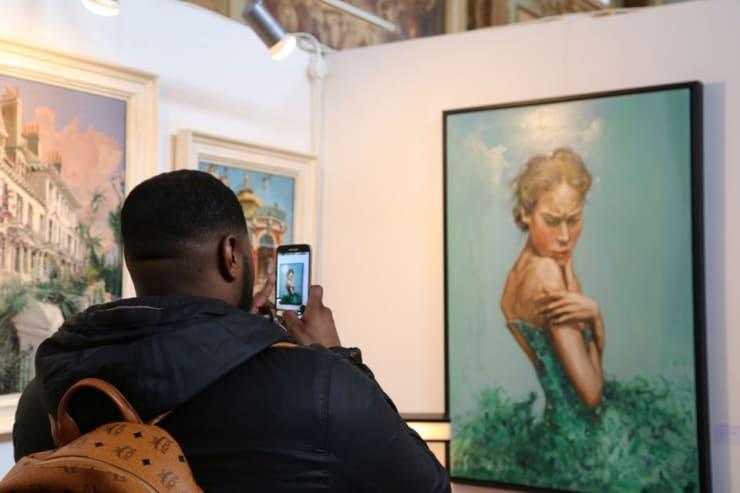 Gerard Byrne Parallax Art Fair Chelsea London 8