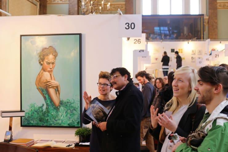 Gerard Byrne Parallax Art Fair Chelsea London 9