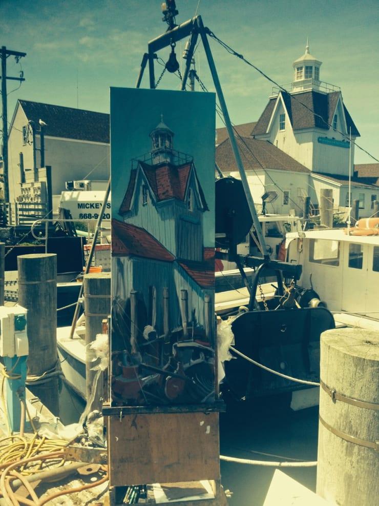 2014 06 18 Gerard Byrne Plein Air Painting Hamptons Usa Photo Credit Gerard Byrne