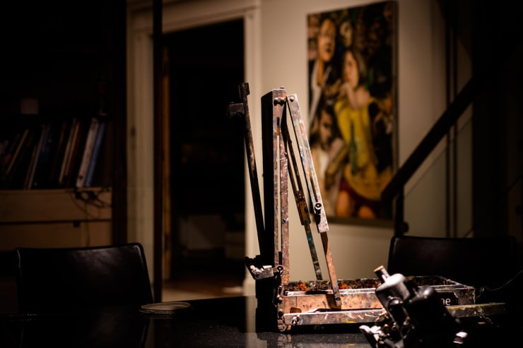 2015 06 12 Gerard Byrnes Easle Artist Studio Art House Dalkey Ireland Photo Credit Colm Murphy