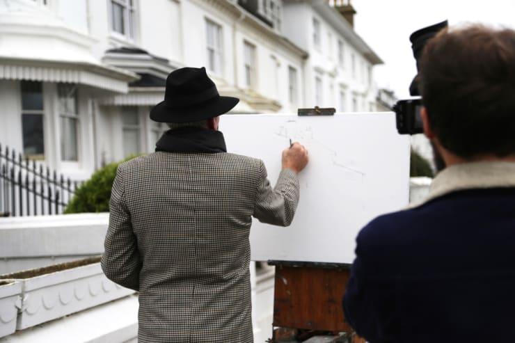 2016 02 20 Gerard Byrne Behind Scenes Kirsten Cavendish Film Brighton Uk Photo Credit Agata Byrne 3