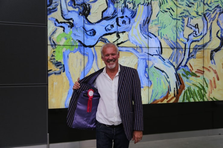 2016 09 04 Gerard Byrne Visiting Van Gogh Museum Amsterdam Photo Credit Agata Byrne