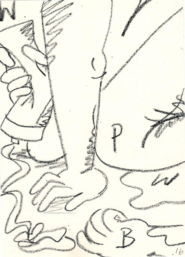 Olivia Sterling in Drawing Biennial 2021