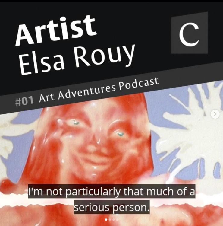 Artist Elsa Rouy #01 Art Adventures Podcast