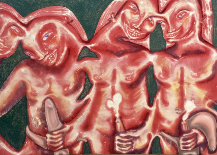 Elsa Rouy is the British art scene's bold new romantic