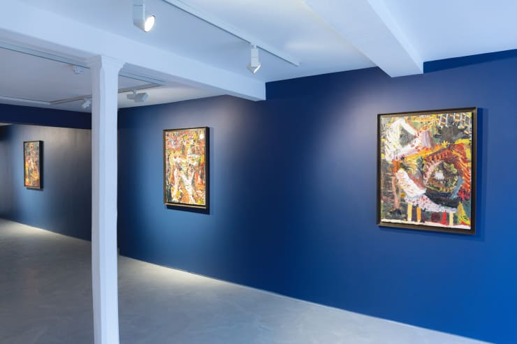 James Drinkwater 'A Day by the Sea' Installation view Copyright of the artist Courtesy of Informality