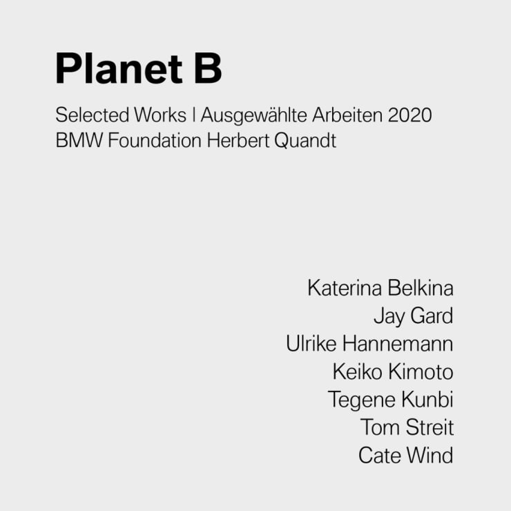 Planet B, BMW Foundation Herbert Quandt