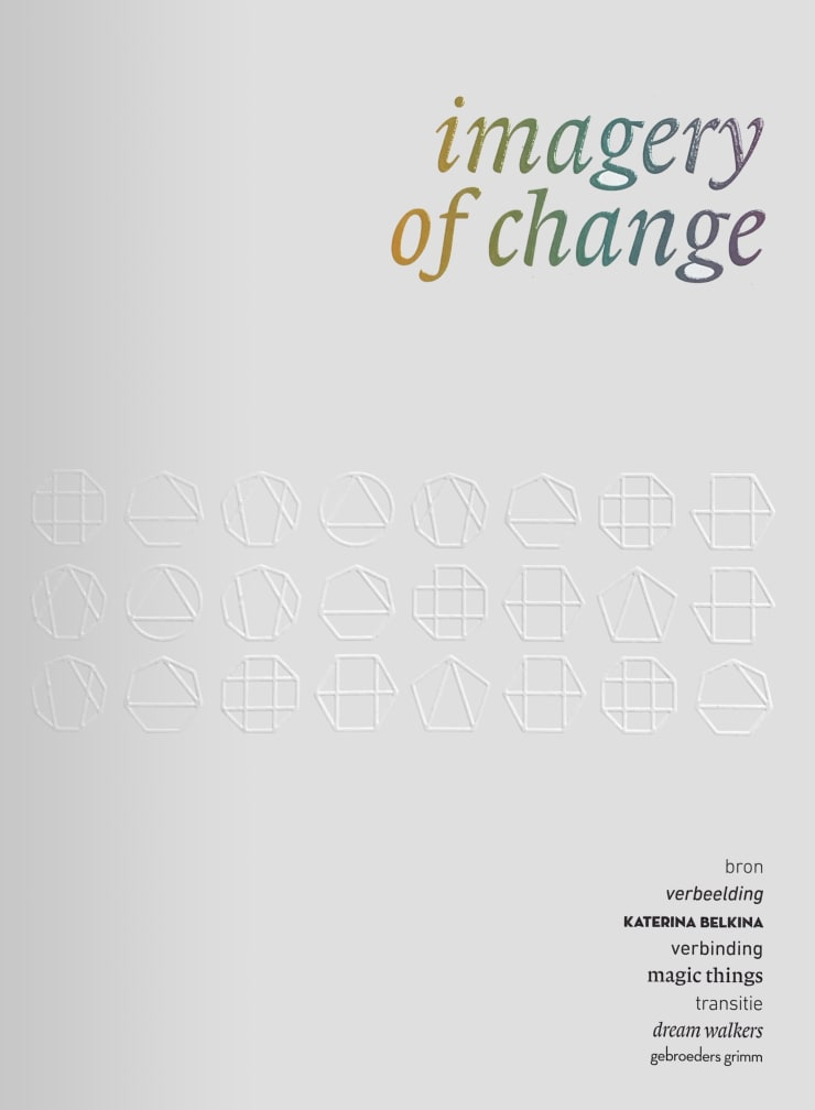 imagery of change, Exhibition catalogue