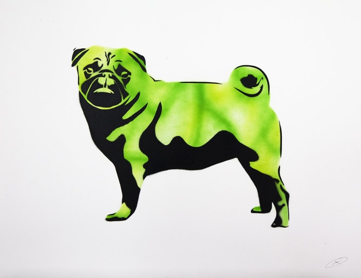 XOOOOX, Pug 3 (CMYK), 2013
