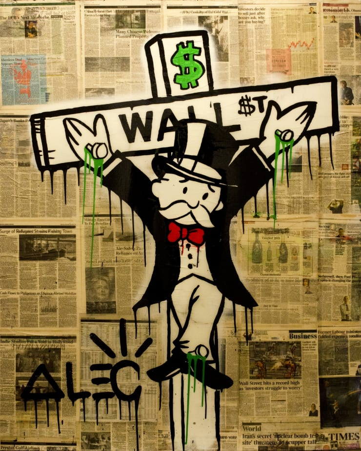 """, arial, helvetica; font-size: 11px; line-height: 14px;"""">Alec Monopoly Exile On Wall Street, 2013"""