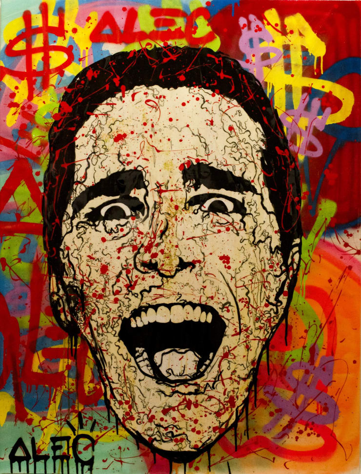 """, arial, helvetica; font-size: 11px; line-height: 14px;"""">Alec Monopoly Bateman - The Scream, 2013"""
