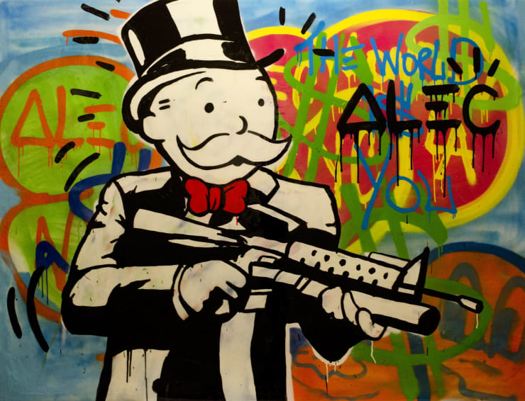 """, arial, helvetica; font-size: 11px; line-height: 14px;"""">Alec Monopoly The World Is You, 2013"""