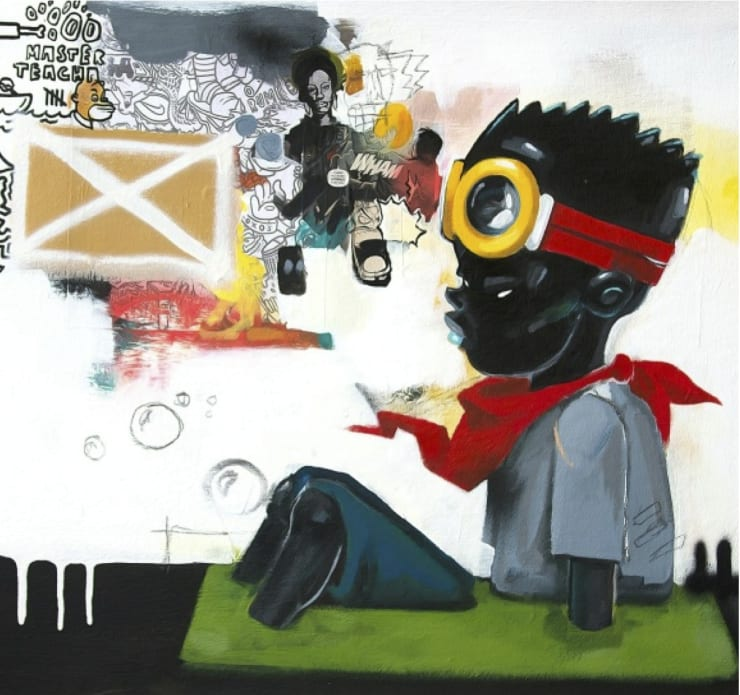 Hebru Brantley Blk Bart, 2014