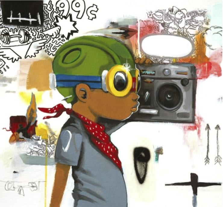 Hebru Brantley Radioooo!, 2014