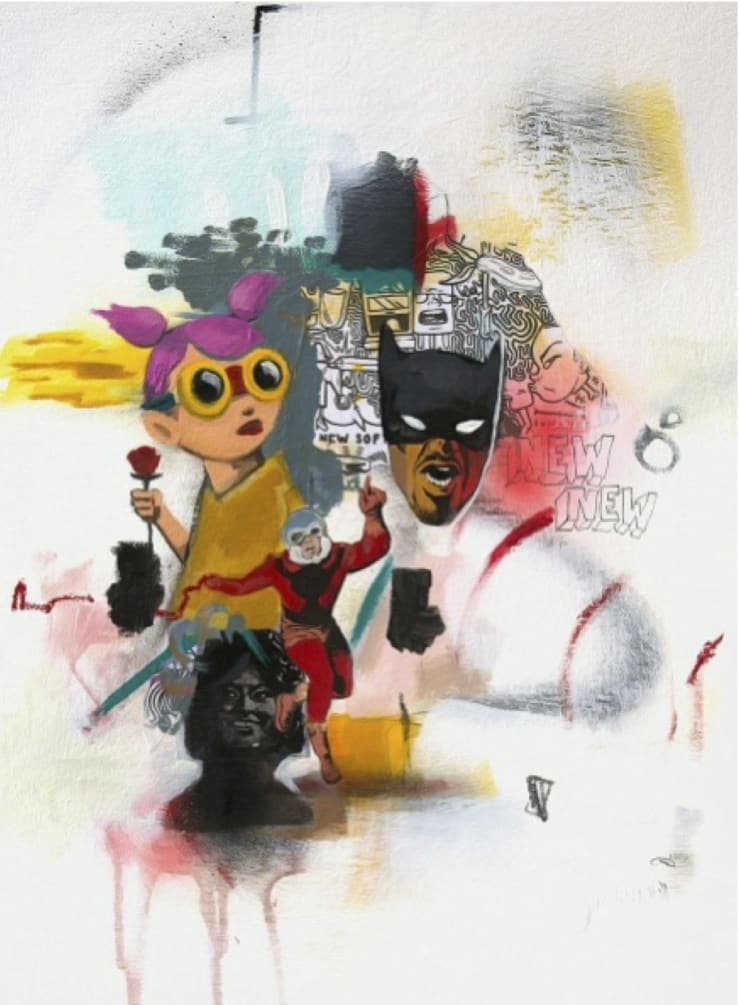 Hebru Brantley Six, 2014