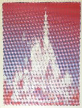 Shelter Serra Disney Castle (Violet), 2014
