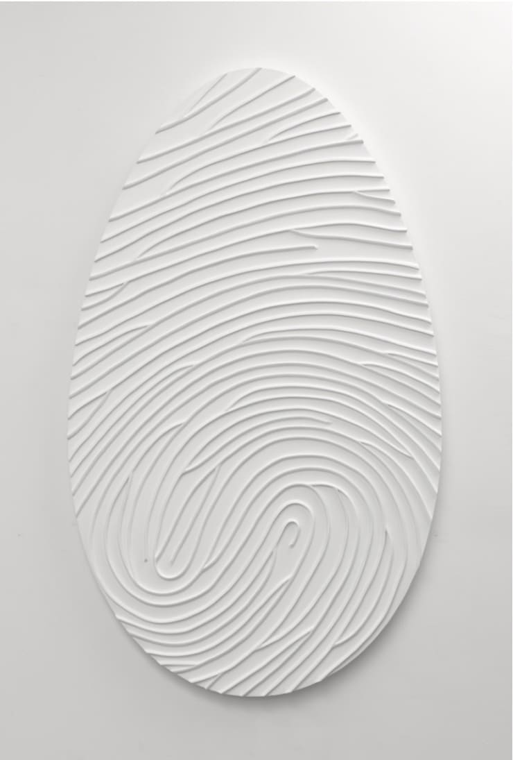 Marc Quinn Labyrinth Painting XX180 Monochrome, 2011