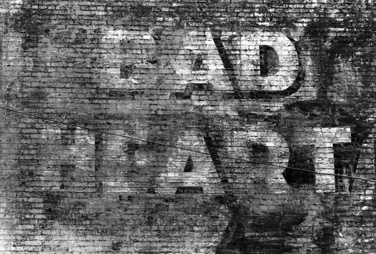 Dennis Hopper Bad Heart (Downtown Los Angeles), 1961