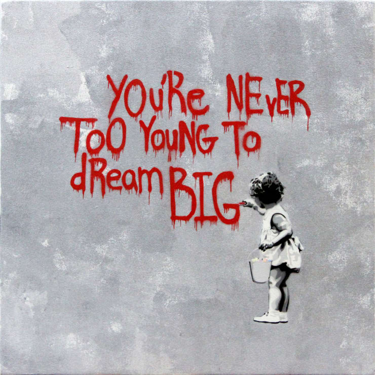HIJACK Never Too Young to Dream Big - Red Grey, 2013