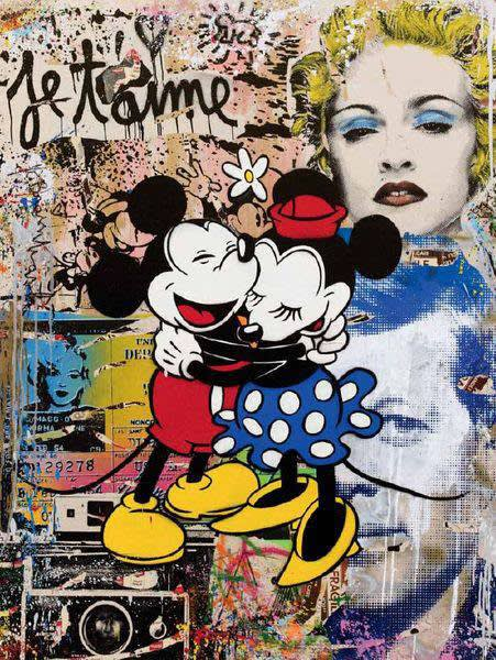 Mr Brainwash (Thierry Guetta) Life Is Beautiful, 2011