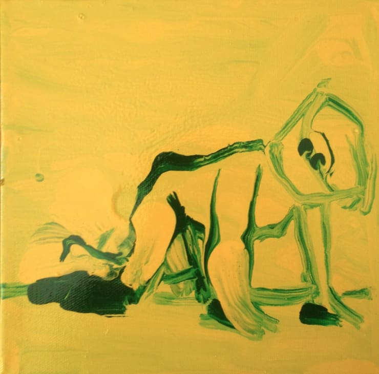 Enzo Marra Franco B (yellow and green), 2015
