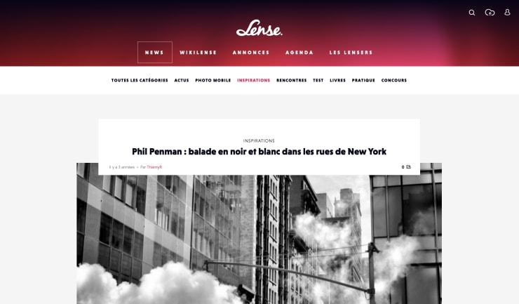 LENSE.FR: Phil Penman : balade en noir et blanc dans les rues de New York