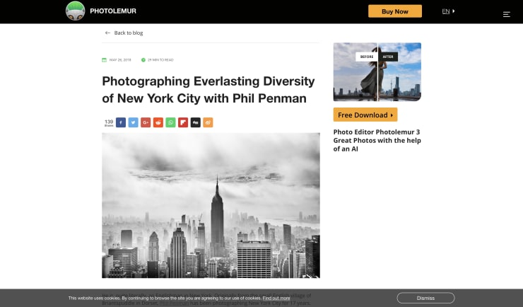 PHOTOLEMUR: PHOTOGRAPHING EVERLASTING DIVERSITY OF NEW YORK WITH PHIL PENMAN