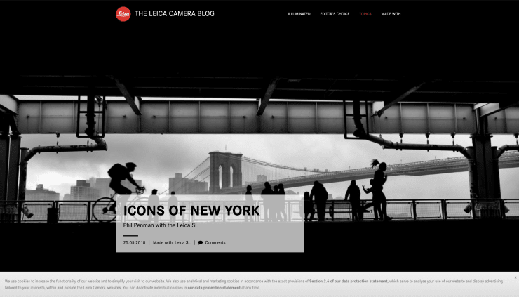 THE LEICA BLOG: ICONS OF NEW YORK