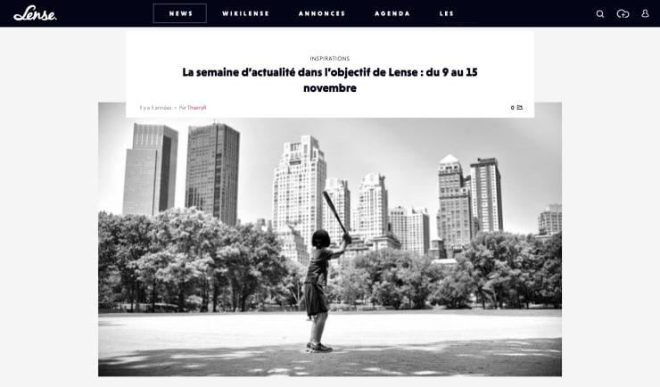 lense.fr: La semaine d'actualité dans l'objectif de Lense : du 9 au 15 novembre